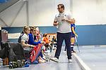 head coach Nicklas Benecke of Mannheimer HC beim Spiel der Hockey Bundesliga Damen, TSV Mannheim (hell) - Mannheimer HC (dunkel).<br /> <br /> Foto © PIX-Sportfotos *** Foto ist honorarpflichtig! *** Auf Anfrage in hoeherer Qualitaet/Aufloesung. Belegexemplar erbeten. Veroeffentlichung ausschliesslich fuer journalistisch-publizistische Zwecke. For editorial use only.