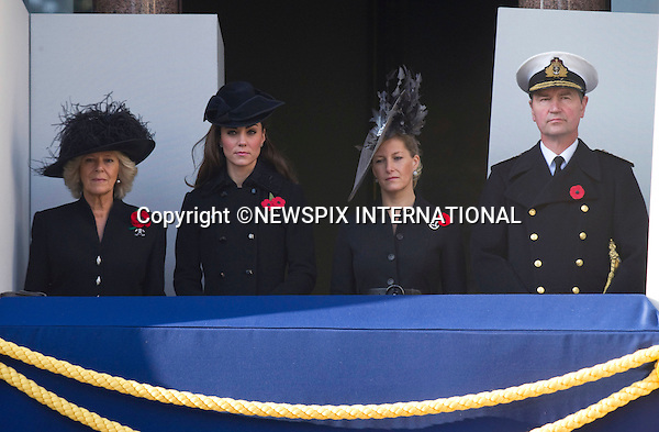 "CATHERINE, DUCHESS OF CAMBRIDGE, CAMILLA,DUCHESS OF CORNWALL, SOPHIE, COUNTESS OF WESSEX AND TIM LAURENCE.Kate's attended her 1st Remembrance Service with members of the Royal Family at the Cenotaph, London_13th November 2011.©FRANCIS DIAS - NEWSPIX INTERNATIONAL..Mandatory credit photo:NEWSPIX INTERNATIONAL(Failure to credit will incur a surcharge of 100% of reproduction fees)..**ALL FEES PAYABLE TO: ""NEWSPIX  INTERNATIONAL""**..Newspix International, 31 Chinnery Hill, Bishop's Stortford, ENGLAND CM23 3PS.Tel:+441279 324672.Fax: +441279656877.Mobile:  07775681153.e-mail: info@newspixinternational.co.uk"