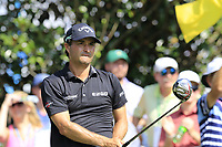 Kevin Kisner (USA) tees off the 16th tee during Friday's Round 2 of the 2017 PGA Championship held at Quail Hollow Golf Club, Charlotte, North Carolina, USA. 11th August 2017.<br /> Picture: Eoin Clarke | Golffile<br /> <br /> <br /> All photos usage must carry mandatory copyright credit (&copy; Golffile | Eoin Clarke)