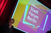 2016/04/04 Berlin | Stadtforum Berlin
