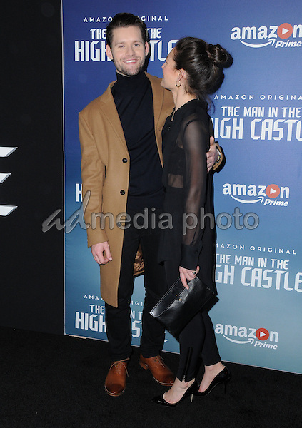 08 december 2016 los angeles california luke kleintank alexa davalos premiere