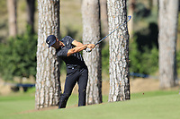 Thorbjorn Olesen (DEN) plays his 2nd shot on the 3rd hole during Saturday's Round 3 of the 2018 Turkish Airlines Open hosted by Regnum Carya Golf &amp; Spa Resort, Antalya, Turkey. 3rd November 2018.<br /> Picture: Eoin Clarke | Golffile<br /> <br /> <br /> All photos usage must carry mandatory copyright credit (&copy; Golffile | Eoin Clarke)