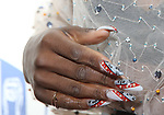 Cynthia Erivo, nail detail, attends the 74th Annual Theatre World Awards at Circle in the Square on June 4, 2018 in New York City.