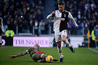 Radja Nainggolan of Cagliari , Cristiano Ronaldo of Juventus  <br /> Torino 6-1-2020 Juventus Stadium <br /> Football Serie A 2019/2020 <br /> Juventus FC - Cagliari Calcio <br /> Photo Federico Tardito / Insidefoto