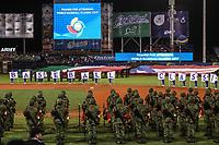 Inauguraci&oacute;n del World Baseball Classic 2017, con la bandera de Italia y bandera de Puerto Rico en el terreno de juego<br /> <br />  Aspectos del partido Mexico vs Italia, durante Cl&aacute;sico Mundial de Beisbol en el Estadio de Charros de Jalisco.<br /> Guadalajara Jalisco a 9 Marzo 2017 <br /> Luis Gutierrez/NortePhoto.com