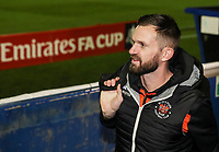 Blackpool's Mark Howard <br /> <br /> Photographer Andrew Kearns/CameraSport<br /> <br /> The Emirates FA Cup Second Round - Solihull Moors v Blackpool - Friday 30th November 2018 - Damson Park - Solihull<br />  <br /> World Copyright © 2018 CameraSport. All rights reserved. 43 Linden Ave. Countesthorpe. Leicester. England. LE8 5PG - Tel: +44 (0) 116 277 4147 - admin@camerasport.com - www.camerasport.com