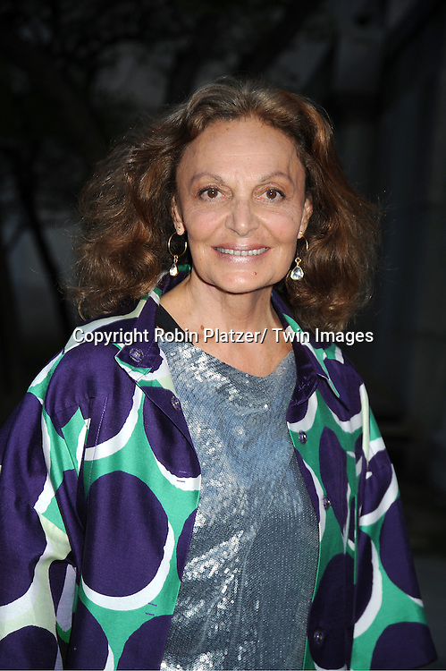 Diane Von Furstenberg arrives at The Vanity Fair Tribeca Film Festival Party at The State Supreme Courthouse at 60 Centre Street on April 17, 2012 in New York City.
