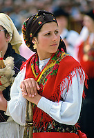 Woman wearing Folk Costume, Oporto, Portugal