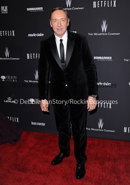 Kevin Spacey<br /> <br />  attends THE WEINSTEIN COMPANY & NETFLIX 2014 GOLDEN GLOBES AFTER-PARTY held at The Beverly Hilton Hotel in Beverly Hills, California on January 12,2014                                                                               © 2014 Hollywood Press Agency