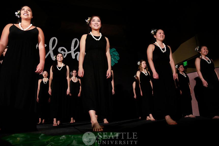 April 29th, 2017- The 55th Annual Luau is hosted by Seattle University's Hui O Nani  Hawaii (Hawaiian club) in Campion ballroom.