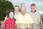 COUNTY: Preparing themselfs for the County Road Race in Ardfert on Sunday L-r: Si?le Kerley,(Castleisland), Grainne Dineen (Gneeveguilla), Mike Lynch (Castleisland) and Mike Dineen (Gneevegulla)..