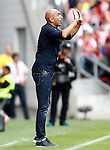 Sporting de Gijon's coach Abelardo Fernandez during La Liga match. September 24,2016. (ALTERPHOTOS/Acero)