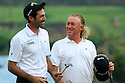 Miguel Angel Jimenez and Alvaro Quiros of Spain in action during the final round of the Omega Mission Hills World Cup played at The Blackstone Course, Mission Hills Golf Club on November 27th in Haikou, Hainan Island, China.( Picture Credit / Phil Inglis )