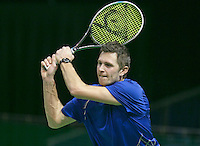 08-02-2014, Netherlands,Rotterdam,Ahoy, ABNAMROWTT,  Stephan Fransen (NED)<br /> Photo:Tennisimages/Henk Koster