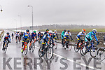 Riders taking the corner at the bridge going in to Blennerville at The Lacey Cup on Sunday just before the race was cancelled due to weather