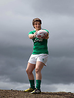 Ciara Griffin, International Rugby Player, pictured at home on the family farm near Ballymacelligott, Tralee County Kerry.<br /> Photo: Don MacMonagle