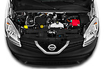 Car Stock 2020 Nissan NV250 Visia 5 Door Car Van Engine  high angle detail view
