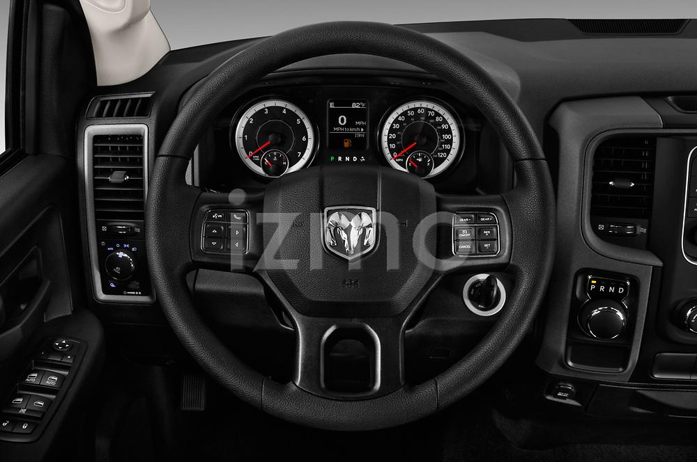 Car pictures of steering wheel view of a 2017 Ram Ram 1500 Tradesman Crew 4 Door Pick Up
