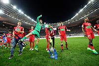 Esultanza PSG  <br /> Parigi 27-05-2017 Stade de France <br /> Angers - Paris Saint Germain PSG Finale Coppa di Francia 2016/2017  <br /> Foto JB Autissier/ Panoramic/insidefoto