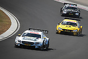 June 17th 2017, Hunaroring, Budapest, Hungary; DTM Motor racing series;  Winner Paul di Resta (GBR, HWA AG, Mercedes-AMG C63 DTM), 16 Timo Glock (GER, BMW Team RMR, BMW M4 DTM), 7 Bruno Spengler (CAN, BMW Team RBM, BMW M4 DTM)