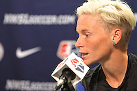 Portland, OR - Wednesday September 30, 2015: Seattle Reign FC Press Conference at Providence Park prior to the NWSL Championship Game.