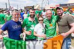 Patrick O'Donoghue, Eamon O'Donoghue, Sinead O'Donoghue, Denis Doolan and Mick Murphy from Killarney.