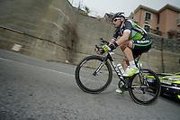 Milan-San Remo 2012.raceday.Tomas Vaitkus up Le Manie