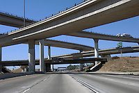 CA I-10 Interstate 10, and, Interstate 15, Four-Level Interchange