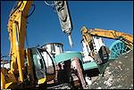 Villaggio olimpico in costruzione a Sestriere