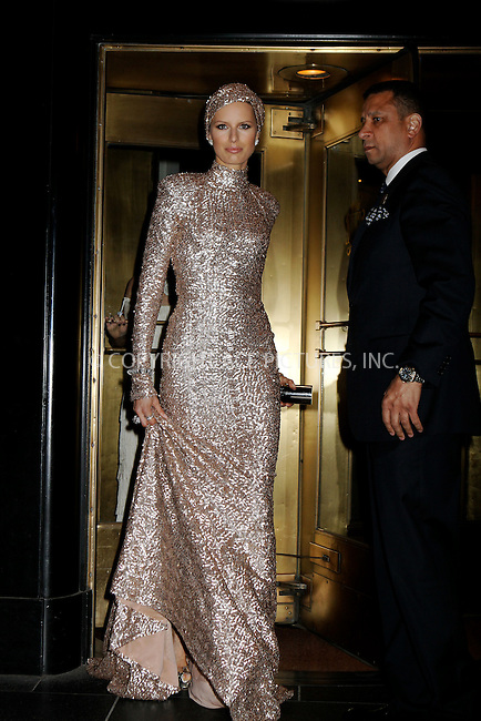 WWW.ACEPIXS.COM . . . . .  ....May 7 2012, New York City....Karolina Kurkova leaving a hotel on the way to the Met Gala on May 7 2012 in New York City....Please byline: NANCY RIVERA- ACEPIXS.COM.... *** ***..Ace Pictures, Inc:  ..Tel: 646 769 0430..e-mail: info@acepixs.com..web: http://www.acepixs.com