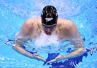 PICTURE BY VAUGHN RIDLEY/SWPIX.COM - Swimming - British Swimming Championships 2012 (Olympic Selection Trials) - Aquatics Centre, Olympic Park, London, England - 07/03/12 - Joe Roebuck competes in the Men's 200m Individual Medley Heats.