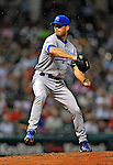 13 September 2008: Kansas City Royals' pitcher Ron Mahay on the mound against the Cleveland Indians at Progressive Field in Cleveland, Ohio. The Royals defeated the Indians 8-4 in the second game, sweeping their double-header...Mandatory Photo Credit: Ed Wolfstein Photo