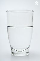 Glass of water (Licence this image exclusively with Getty: http://www.gettyimages.com/detail/sb10068346ck-001 )