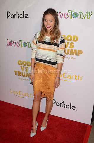 "HOLLYWOOD, CA - NOVEMBER 07: Jaime Chung at  the Premiere Of ""God vs Trump"" At TCL Chinese theatre in Hollywood, California on November 07, 2016. Credit: David Edwards/MediaPunch"
