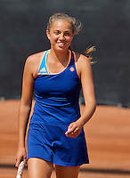 Netherlands, Rotterdam August 05, 2015, Tennis,  National Junior Championships, NJK, TV Victoria, Flory Bierma<br /> Photo: Tennisimages/Henk Koster