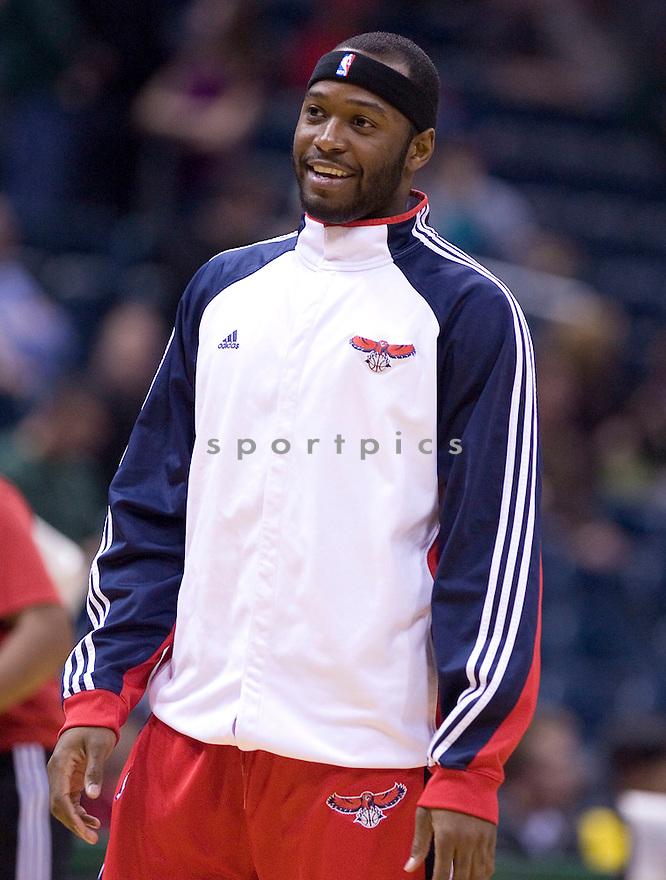 Mario West.April 12, 2010 Milwaukee, WI. Bradley Center...Milwaukee Bucks lost to the Atlanta Hawks 96-104.