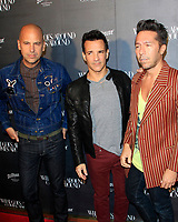 LOS ANGELES - OCT 11:  Claude Morais, George Kotsiopoulos, Brian Wolk at the What Goes Around Comes Around One Year Anniversary Party at the What Goes Around Comes Around Store on October 11, 2017 in Beverly Hills, CA