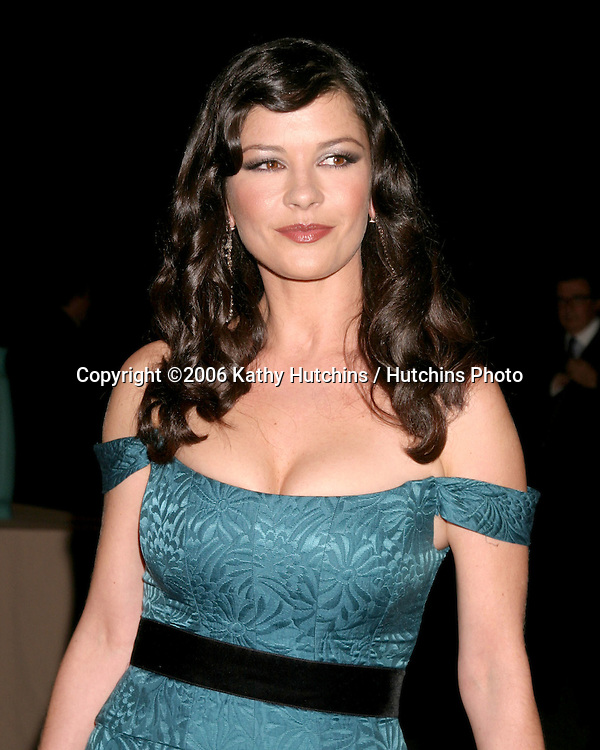 "Catherine Zeta-Jones.""A Fine Romance"" To benefit the Motion Picture & Television Fund.Los Angeles, CA.November 18, 2006.©2006 Kathy Hutchins / Hutchins Photo...."