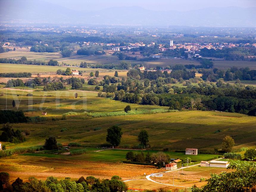 Farmland near Castelvecchio, Tuscany, Ital