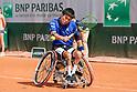 Tennis: Wheelchair: French Open tennis tournament 2018