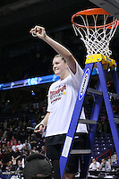 31 March 2008: Jayne Appel during Stanford's 98-87 win over the University of Maryland in the elite eight game of the NCAA Division 1 Women's Basketball Championship in Spokane, WA.