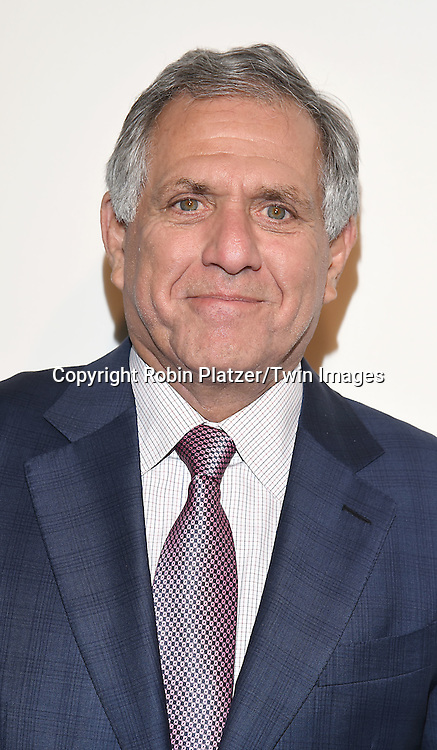 Leslie Moonves attends the CBS Upfront 2016-2017 on May 18, 2016 at the Oak Room at the Plaza Hotel in New Yorik, New York, USA.<br /> <br /> photo by Robin Platzer/Twin Images<br />  <br /> phone number 212-935-0770