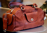 Leather Luggage, Mandarin Duck, Rome, Italy