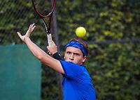 Hilversum, Netherlands, August 9, 2017, National Junior Championships, NJK, Wisse Jonker<br /> Photo: Tennisimages/Henk Koster