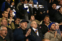 Leeds United fans show their support despite being 4-0 behind<br /> <br /> Photographer David Shipman/CameraSport<br /> <br /> The EFL Sky Bet Championship - West Bromwich Albion v Leeds United - Saturday 10th November 2018 - The Hawthorns - West Bromwich<br /> <br /> World Copyright &copy; 2018 CameraSport. All rights reserved. 43 Linden Ave. Countesthorpe. Leicester. England. LE8 5PG - Tel: +44 (0) 116 277 4147 - admin@camerasport.com - www.camerasport.com