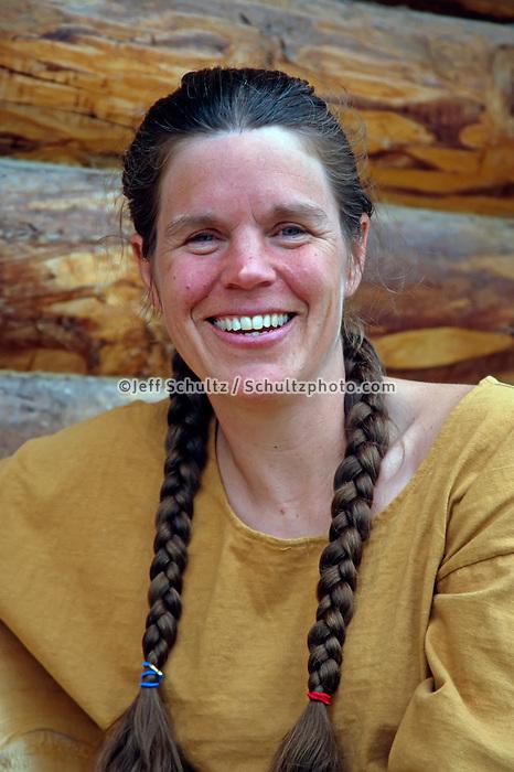 Portrait Of Susan Butcher At Home In Fairbanks Alaska