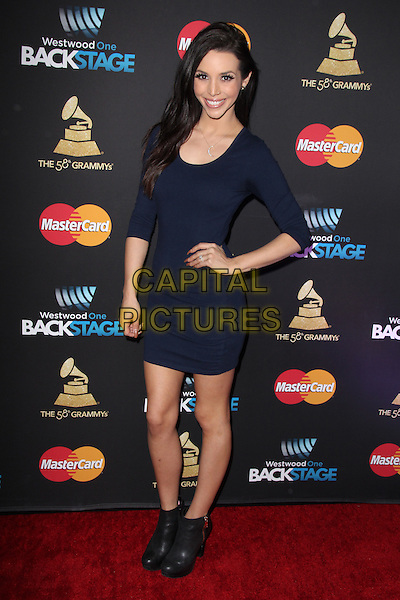 LOS ANGELES, CA - FEBRUARY 12: Scheana Shay at the 2016 Grammys Radio Row Day 1 presented by Westwood One, Staples Center, Los Angeles, California on February 12, 2016.   <br /> CAP/MPI/DE<br /> &copy;DE//MPI/Capital Pictures