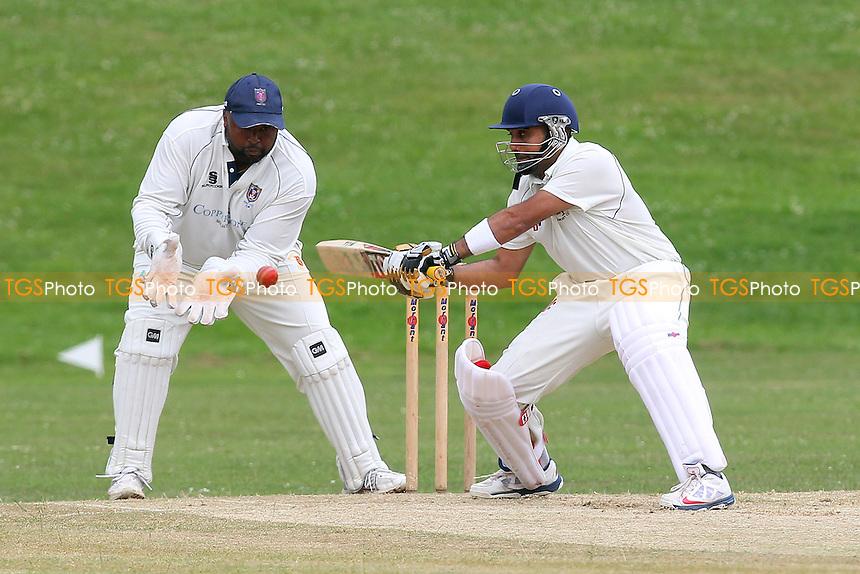 Ardleigh Green CC (batting) vs Hainault & Clayhall CC - Essex Cricket League - 28/06/14 - MANDATORY CREDIT: Gavin Ellis/TGSPHOTO - Self billing applies where appropriate - 0845 094 6026 - contact@tgsphoto.co.uk - NO UNPAID USE