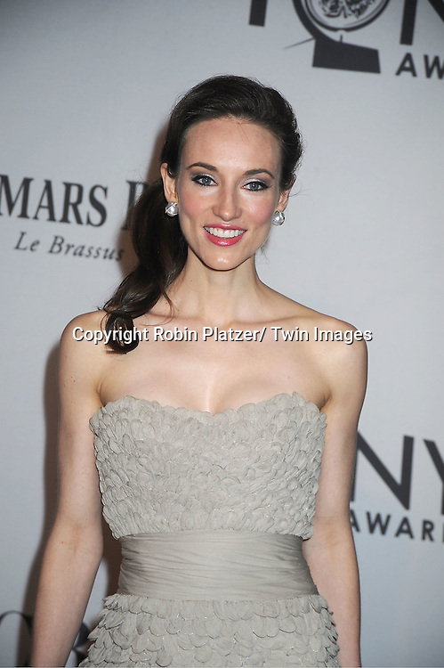 Elizabeth Davis attends th 66th Annual Tony Awards on June 10, 2012 at The Beacon Theatre in New York City.