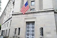 WASHINGTON DC, EUA, 08.10.2019 - POLITICA-WASHINGTON DC - Departamento de Justiça, na cidade de Washington DC, capital dos Estados Unidos, nesta terça-feira, 8. (Foto Charles Sholl/Brazil Photo Press/Folhapress)